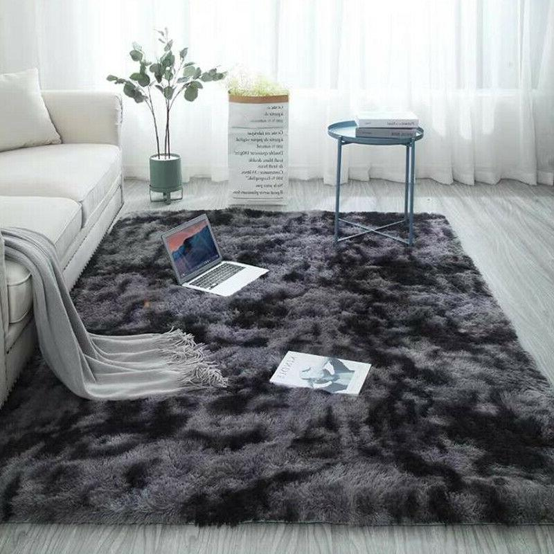 Shaggy Rug Anti-Skid Living Carpet Mat