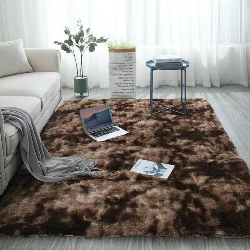 Soft Fluffy Area Mat for Bedroom Living