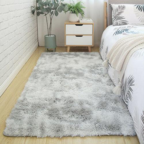 Shaggy Area Tie-Dye Floor Soft Carpet Living Room Rug