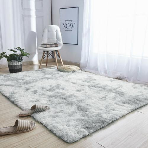 Shaggy Area Tie-Dye Floor Soft Living Room Rug