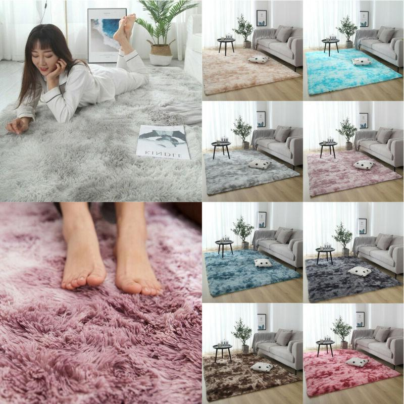 Shaggy Living Room Area Rugs Soft Large Rug