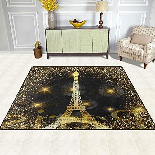 ALAZA Tower Rugs Bedroom