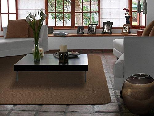 House, Skid-resistant Carpet Indoor Rug Mat Toffee X Many From