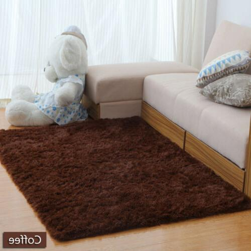 Shaggy Carpet Living Room Bedroom Rugs Home