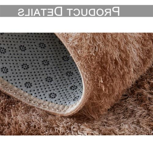 Soft Shaggy Rugs Large Living Room Bedroom Home