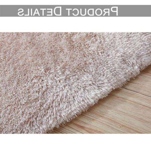 Soft Fluffy Rugs Large Room Home Decor