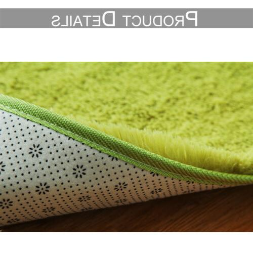 Soft Large Shaggy Room Bedroom Carpet Home Mat