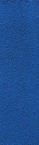 Home Queen Solid Neon Blue Color Custom Size Runner 4' x 10'