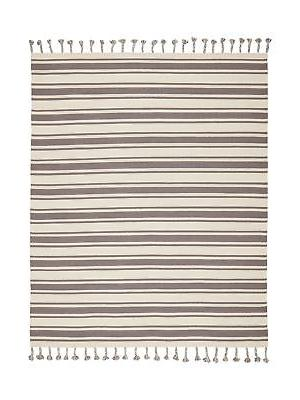 stone and beam los altos striped dhurrie
