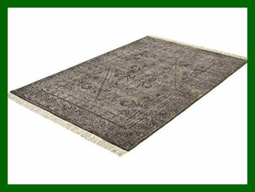 Stone Century Rug 5' X Charcoal