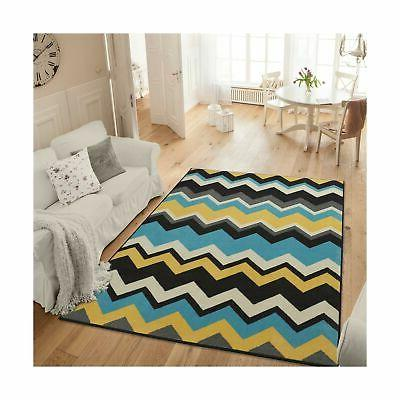 studio collection chevron waves design area rug