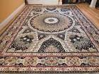 Stunning Persian Silk Area Rugs 8x11 Traditional Carpet Larg