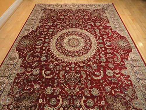 Stunning Silk Rugs Traditional Rugs Persian End Living Room
