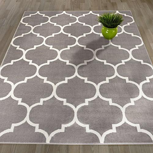 """Sweet Home Stores Collection Trellis Design Area 7'0"""","""