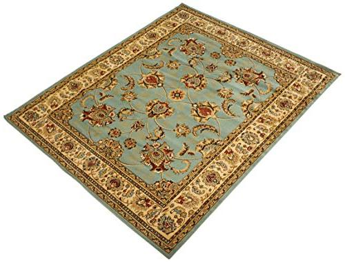 Sweet King Collection Mahal Oriental Area Rug,