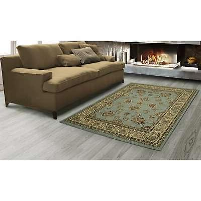 """Sweet Stores Collection Mahal Oriental Area 7'10""""x9'10"""", Seafoam"""