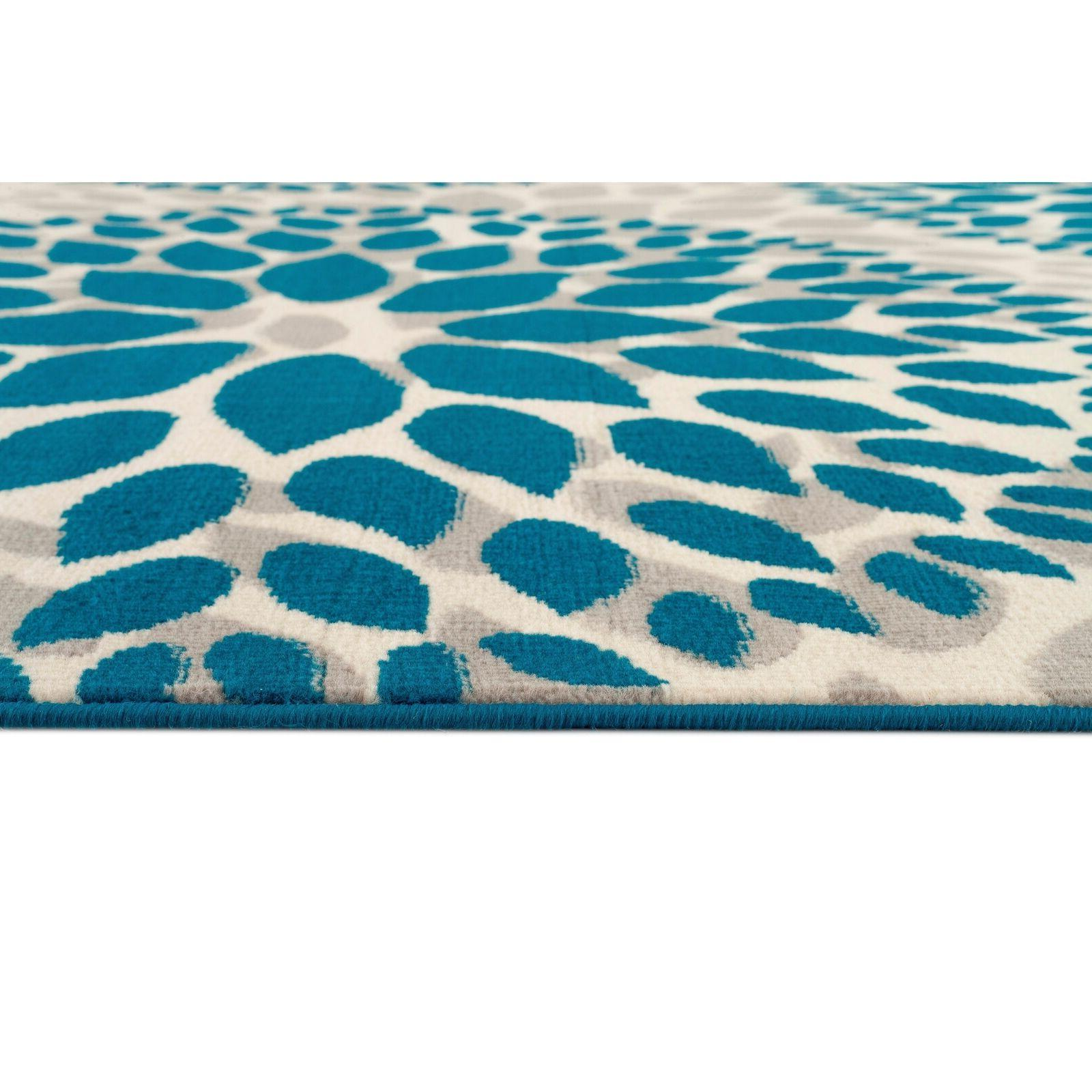 Throw Rug Floral Room Hall Entry Mat