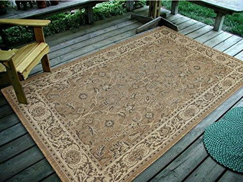 Traditional Outdoor Rug 0946