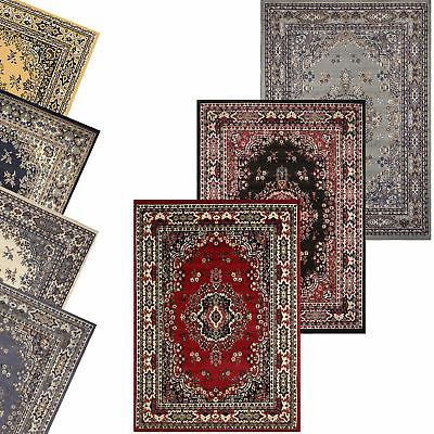 traditional oriental medallion area rug persian style