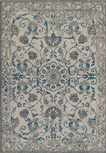 AS Quality Rugs Vintage Rugs Blue 5x8 Blue 5x7 Kitchen