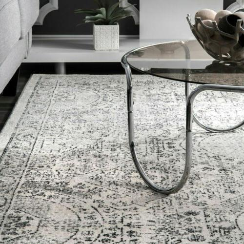 nuLOOM Vintage Area Rug in and Ivory