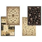 Transitional Floral Area Rug 5x7 Casual Vines Scrolls Carpet