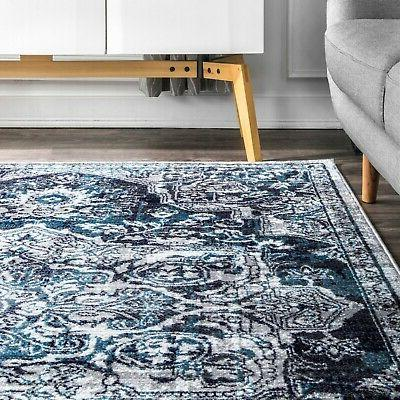 nuLOOM Transitional Medallion Area in