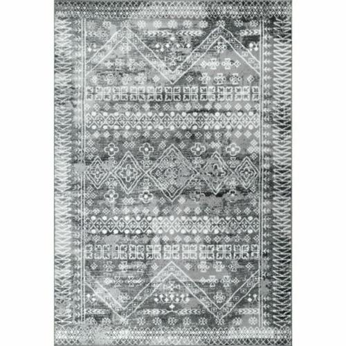 nuLOOM Transitional Moroccan Area in Grey