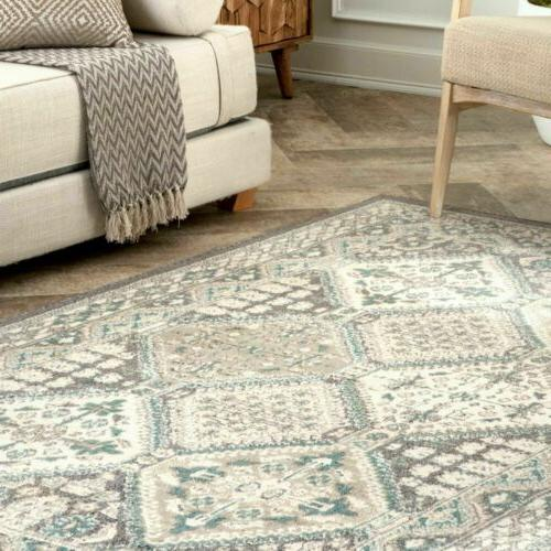 nuLOOM Transitional Becca Area Charcoal