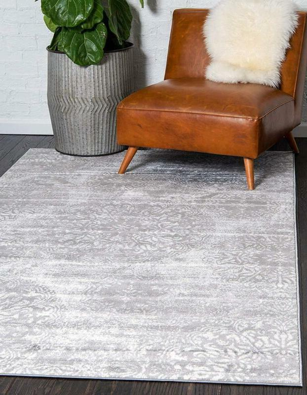 Unique Sofia Traditional Vintage Gray Rug