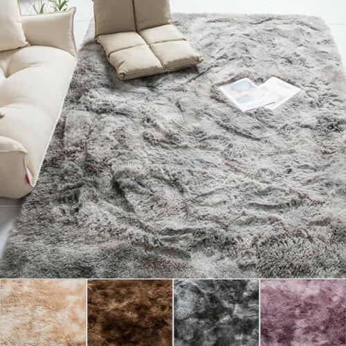 Soft Fluffy Rugs Large Mat Room Bedroom Home