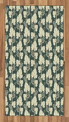 Vineyard Area Rug Decorative Flat Woven Accent Rug Home Deco