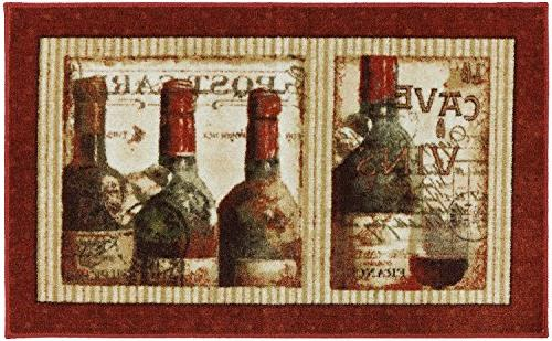 New Wave French Cellar Printed Mat, 2'6 x 4'