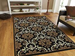 Large Area Rugs 8x11 Contemporary Rugs 8x10 Black 5x7 Rugs 5
