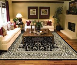 Large Rugs for Living Room Ivory Traditional Clearance Area