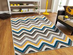 New Fashion Luxury Soft Rug Chevron Pattern 2 by 4 Modern Ru