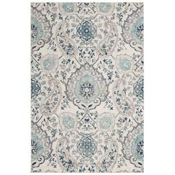 Madison Cream/Light Gray 4 Ft. X 6 Ft. Area Rug