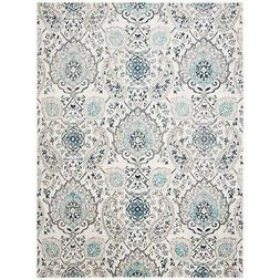 Safavieh Madison MAD600C Cream/Light Grey 8' x 10' Area Rug