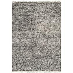 Art of Knot Maxfield Area Rug, 8' x 10', Black