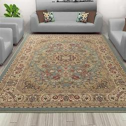 Sweet Home Stores Medallion Design Area Rug  - 3'3 Sage Meda