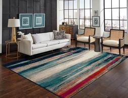 Modern Area Rugs 8x10 Living Room Rugs 8x11 MultiColor Floor