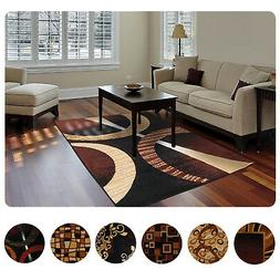Modern Contemporary Geometric Area Rug Runner Accent Mat Car