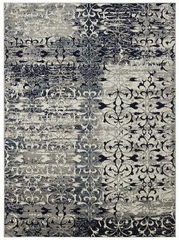 "Diagona Designs Modern Floral Design Area Rug 63"" W x 87"" L"