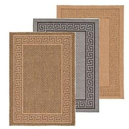 Modern Outdoor Thin Area Rug Contemporary Plain Large Small