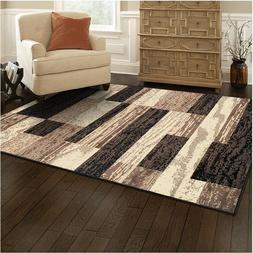 Superior Modern Rockwood Collection Area Rug, 8mm Pile Heigh