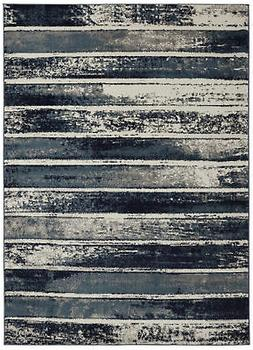 "Diagona Designs Modern Stripes Design Area Rug 63"" W x 87"" L"