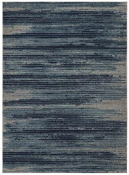 "Diagona Designs Modern Stripes Design Area Rug 79"" W x 111"""