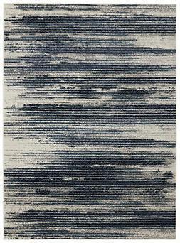 "Diagona Designs Modern Stripes Design Area Rug 94"" W x 118"""
