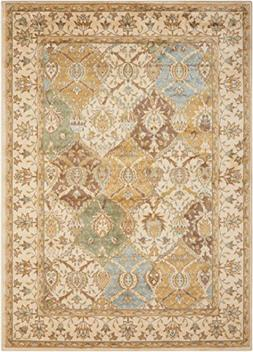 Nourison Modesto  Beige Rectangle Area Rug, 5-Feet 3-Inches