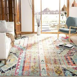 Safavieh Monaco Collection MNC222F Modern Bohemian Erased We